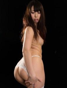 Miku Oguri White Garter Stockings