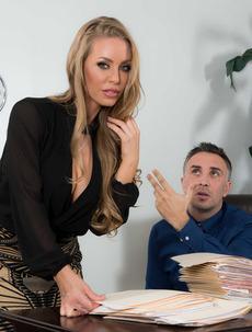 Hot Mature Pornstar Nicole Aniston Fucked Hard
