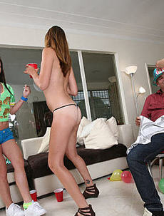 College Panty Party