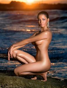 Dasha Astafieva At Playboy