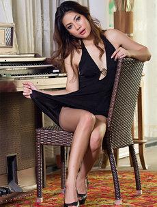 Malene Black Skimpy Dress