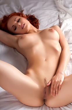 Redhead Angel Mina