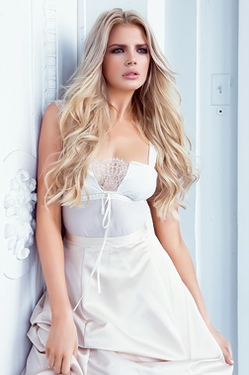 Glamorous Playmate Stephanie Branton