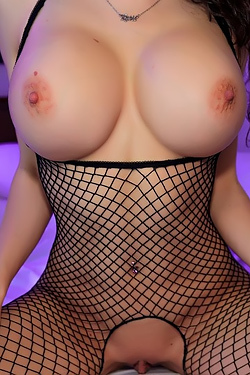 Katie Banks In Fishnets Is Amazing