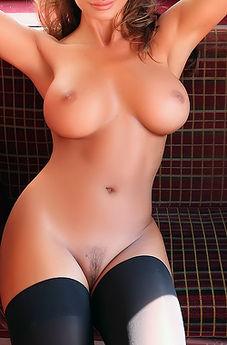 Busty Dana Naked In A Double Decker