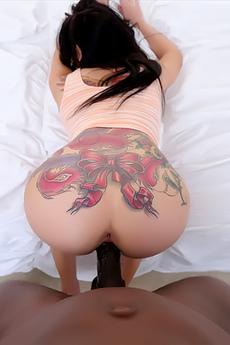 Interracial Sex With Aria Rose
