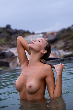 Allie Leggett In Wild Nature