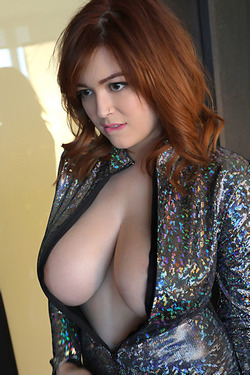 Tessa Fowler In Sparkle Jumpsuit