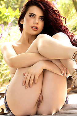 Beautiful And Redhead Sabina